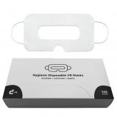 Universal VR masks with storage box (100 pieces, white)