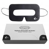 Universal VR masks with storage box (100 pieces, black)